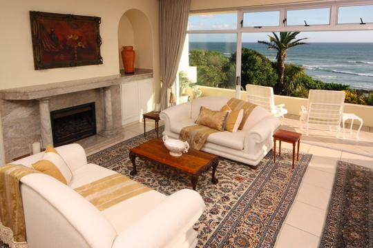 Lounge, The Penthouse, Hermanus Beach Front Lodge