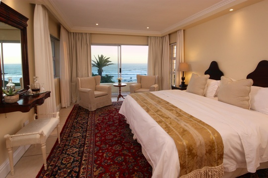 Bedroom,The Penthouse, Hermanus Beach Front Lodge