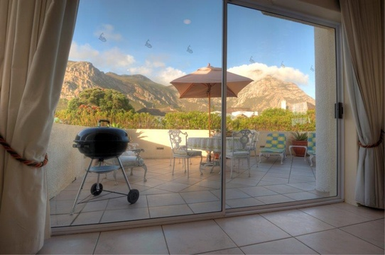 View from Suite, Hermanus Beach Front Lodge